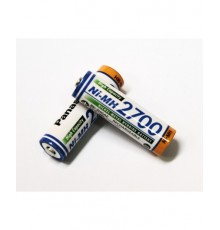 Baterie AA (R6) nabíjecí Panasonic 2700mAh BK-3HGAE - R6 - LR6 - NiMh - 1ks volně