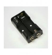 Pouzdro baterie R6 x 2 - vedle sebe