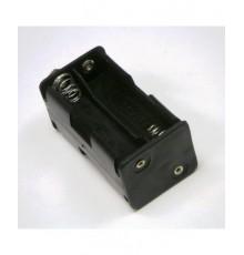 Pouzdro baterie R6 x 4 - vedle sebe / nad sebou