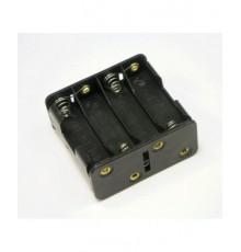 Pouzdro baterie R6 x 8 - vedle sebe / nad sebou