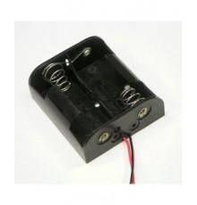 Pouzdro baterie R14 x 2 - vedle sebe
