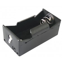 Pouzdro baterie R20 x 1 - pájecí očka