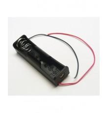 Pouzdro baterii 18650 - 4/3A - s drátky