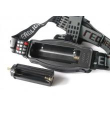 Svítilna čelová 3W LED - CREE XPE - čelovka - 3 režimy - 3 x AAA / 1 x 18650
