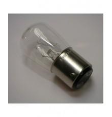 Žárovka 15W - 240V - B22D - podlouhlá