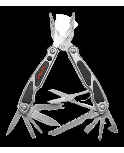 Multifunkční nářadí - kleště - nůž - LED svítilna - šroubováky - pilka - otvírák - nůžky | LED140