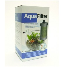 Přírodní látka na zachytávání škodlivin ve sladkovodních akváriích