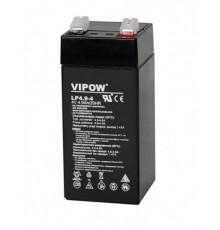 Olověná baterie - bezúdržbový akumulátor 4V - 4.9Ah - VIPOW - LP4.9-4